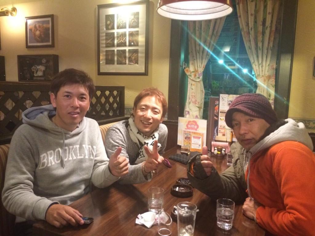 僕、湯川さん、田上さん